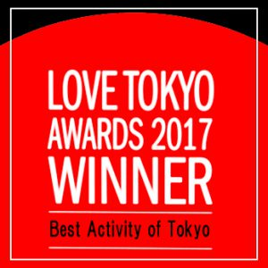 Love Tokyo Awards 2017を受賞